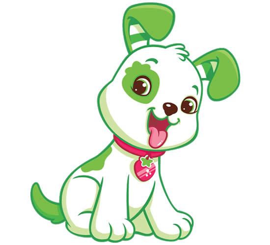 Desenho do Cachorrinho da Moranguinho