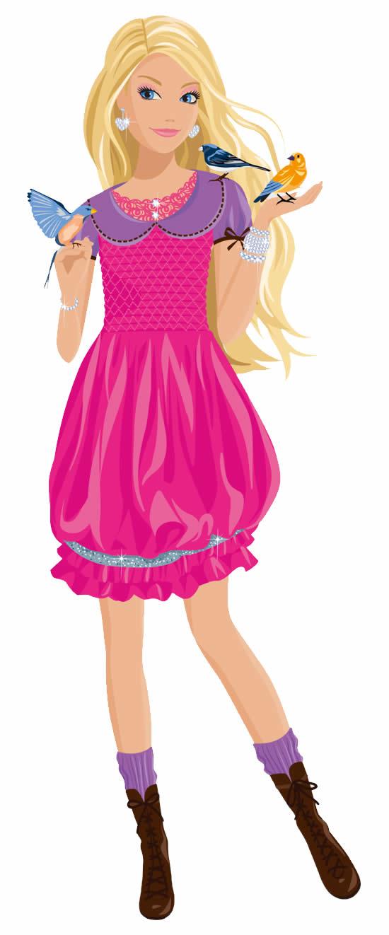 Molde Colorido da Barbie