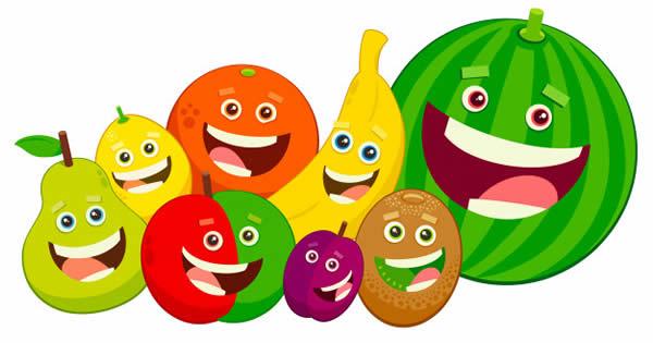 Desenho de frutas