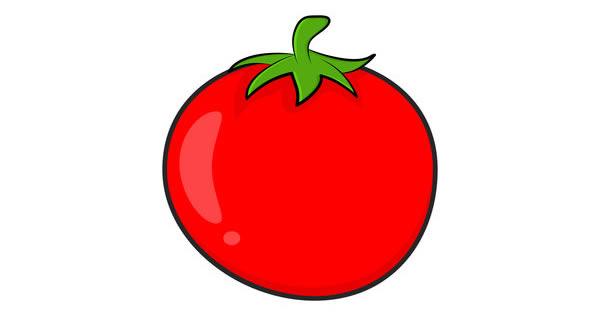 Desenho de tomate