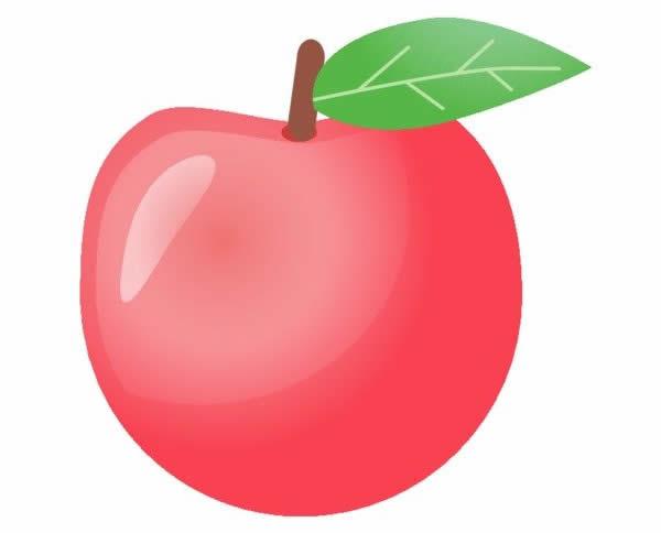 Desenho de maçã