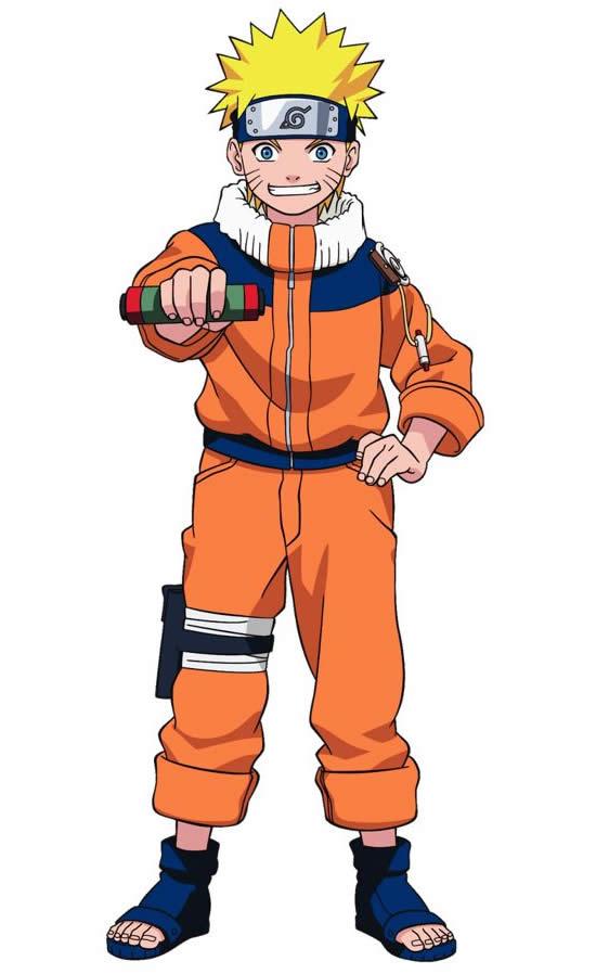 Molde do Naruto