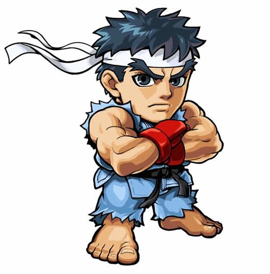 Desenho de Ryu