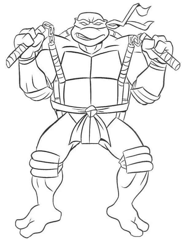 Desenhos De Tartaruga Ninja Para Colorir Pop Lembrancinhas