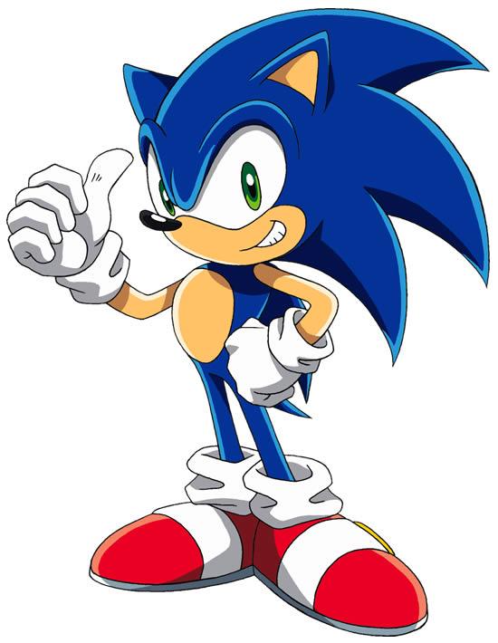 Desenho de Sonic