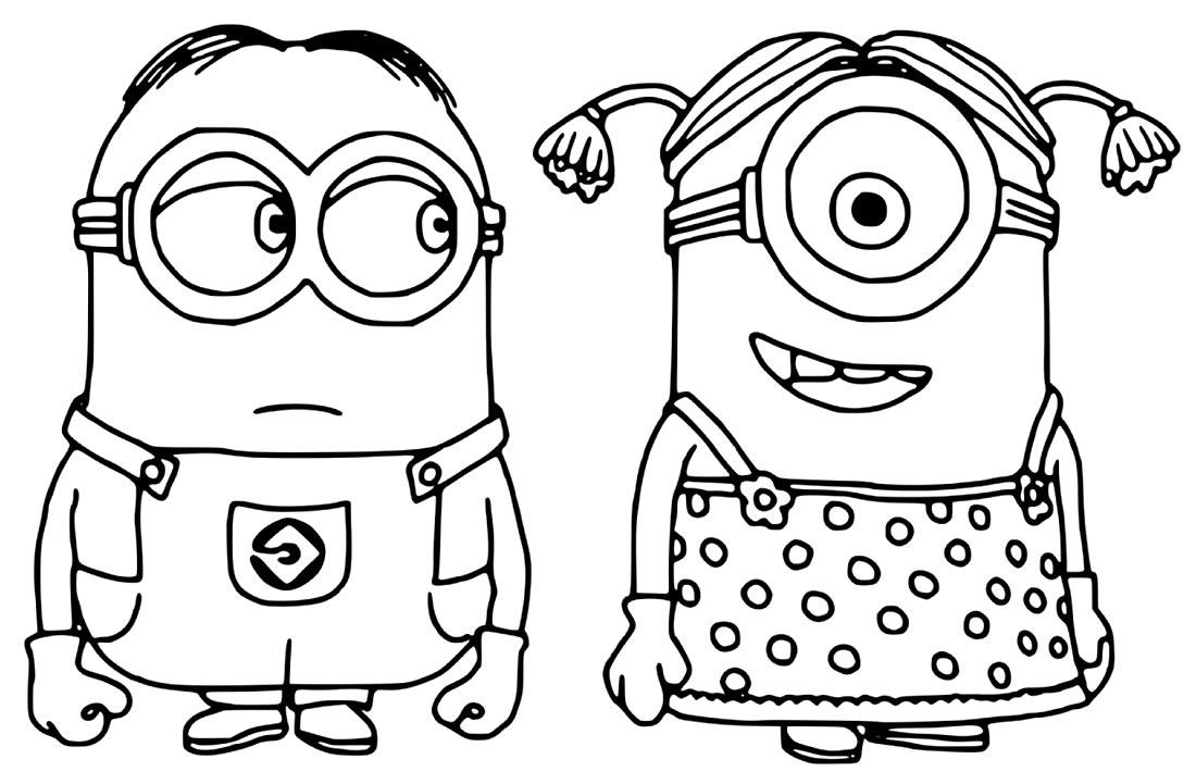 Desenho dos Minions