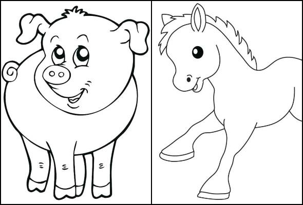 Desenhos De Bichos Para Imprimir E Colorir Pop Lembrancinhas