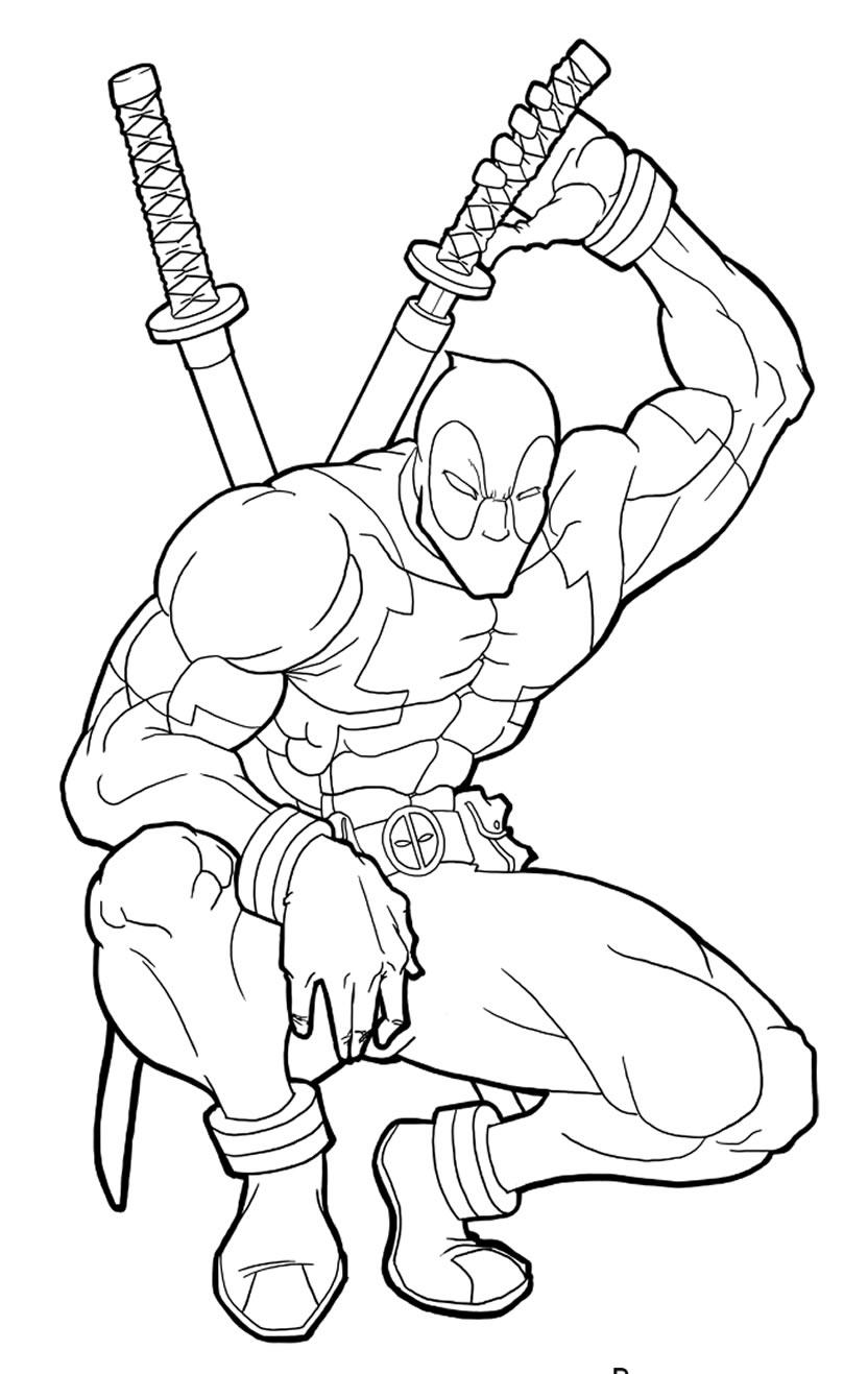 Lindos desenhos de Deadpool