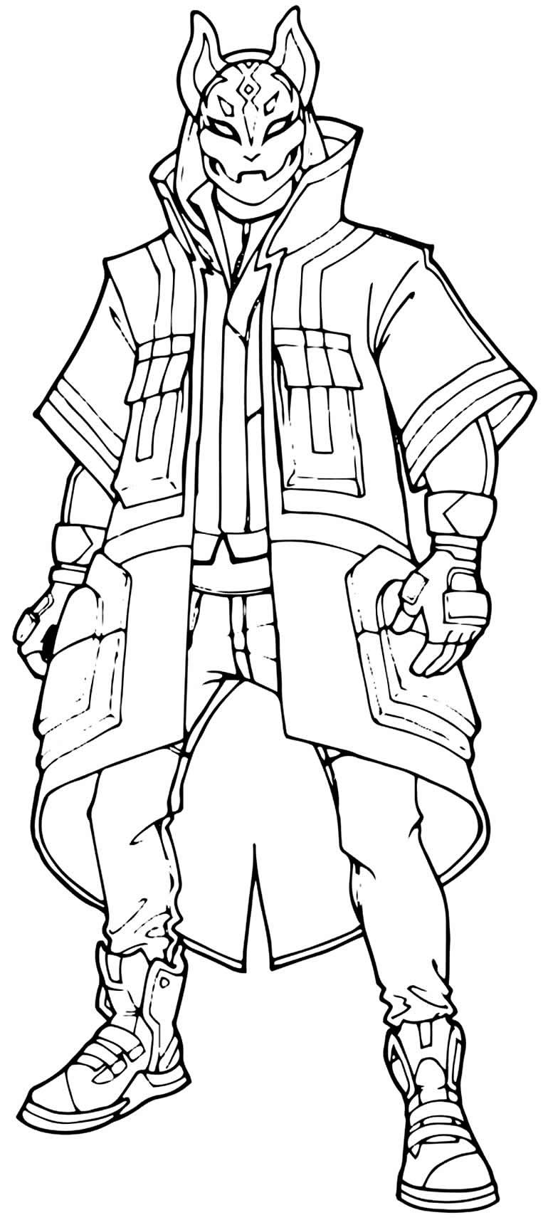 Desenhos de Fortnite para imprimir