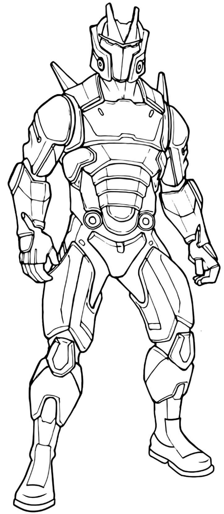 Desenho de Fortnite para pintar