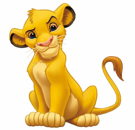 Desenho de Simba