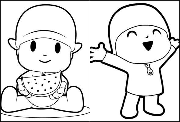 Desenhos De Pocoyo Para Colorir Pop Lembrancinhas