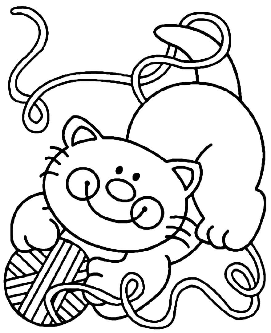 Lindos desenhos de gatinhos