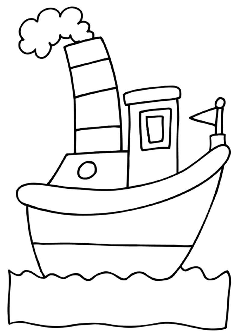 Imagem de navio para pintar