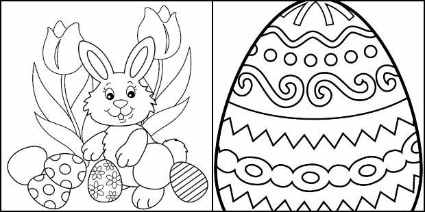 Desenhos De Pascoa Para Colorir E Imprimir Pop Lembrancinhas