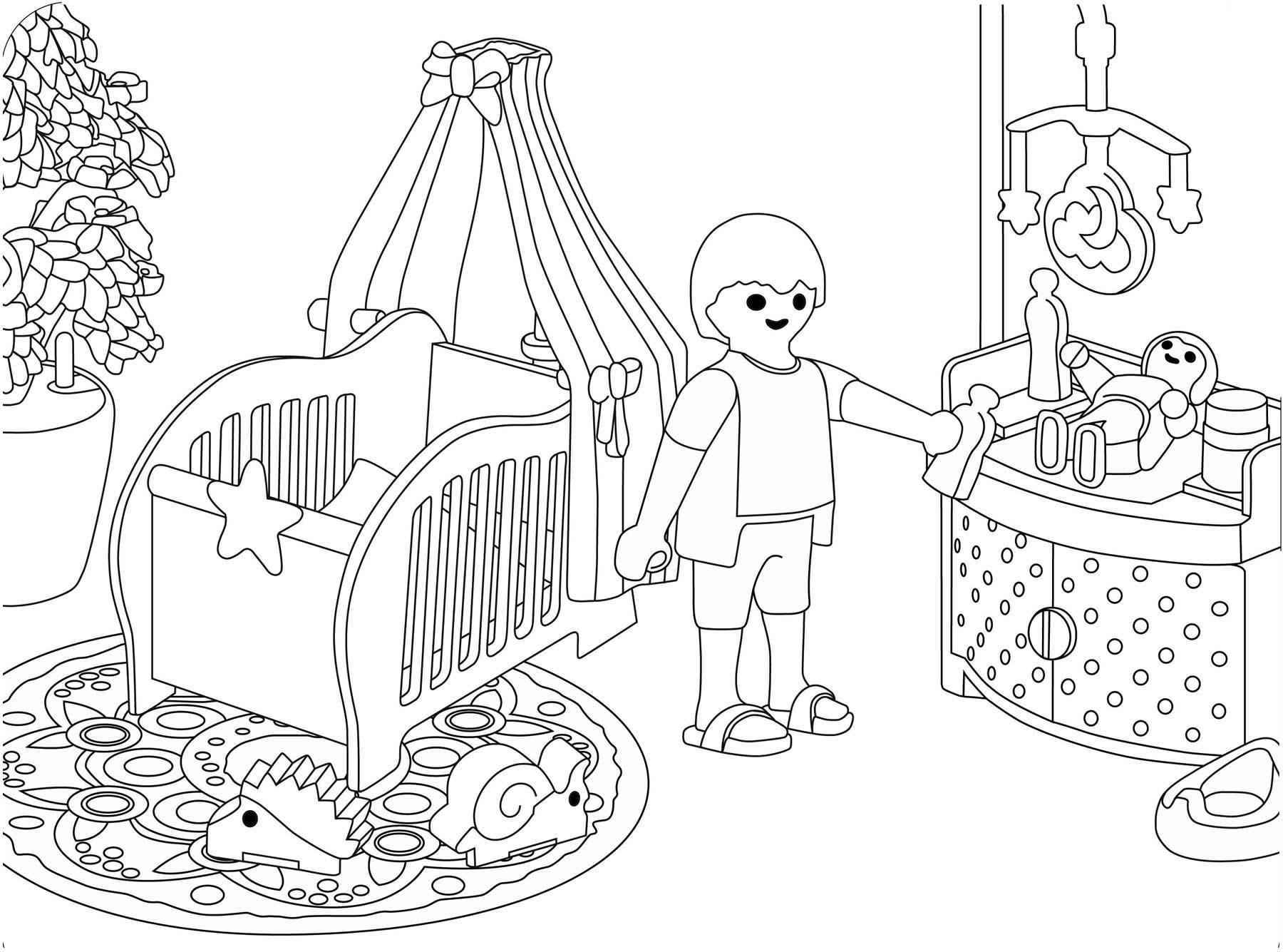 Imagem de Playmobil para pintar