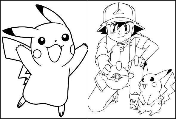 Desenhos De Pokemon Para Colorir E Imprimir Pop Lembrancinhas