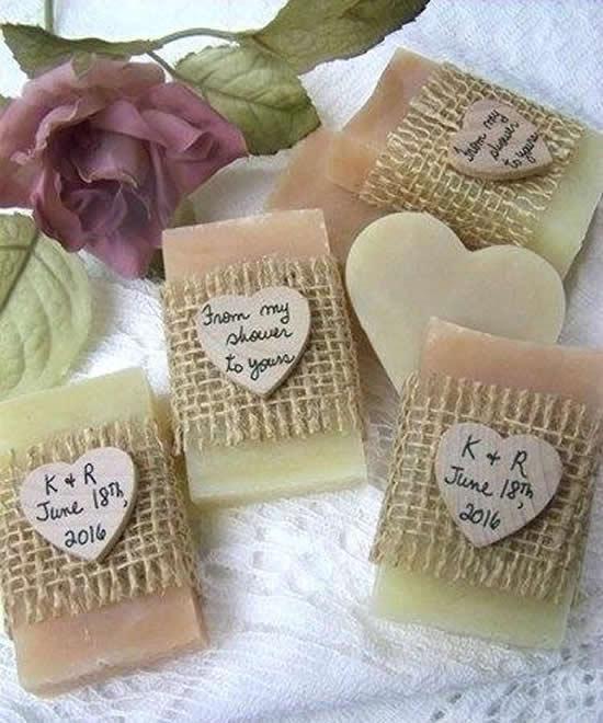 Sabonetes lindos para lembrancinhas