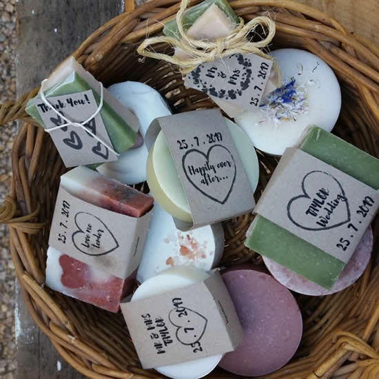 Sabonetes lindos para chás de bebê