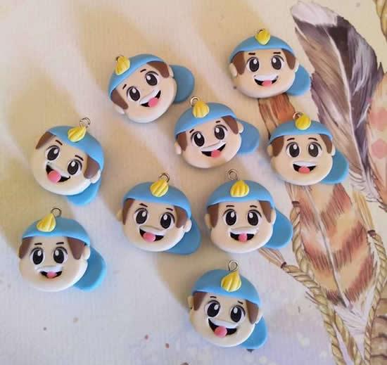 Luccas Neto de biscuit