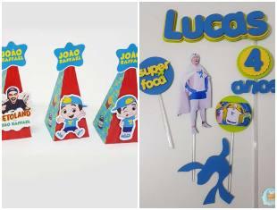 Lembrancinhas para Festa Luccas Neto