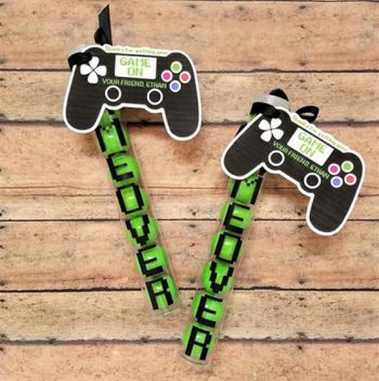 Ideias de lembrancinha para festa video game