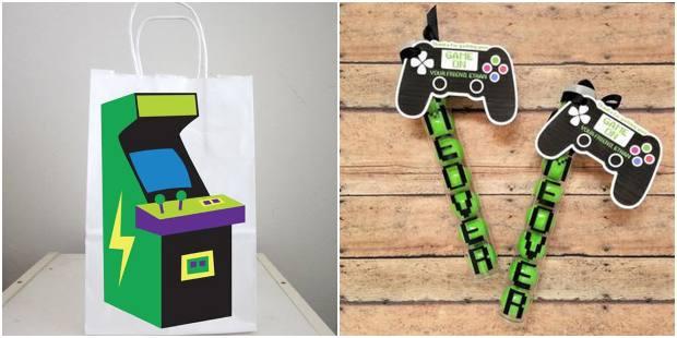 Lembrancinhas para festa video game