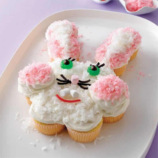 Ideias de cupcake de coelhinho