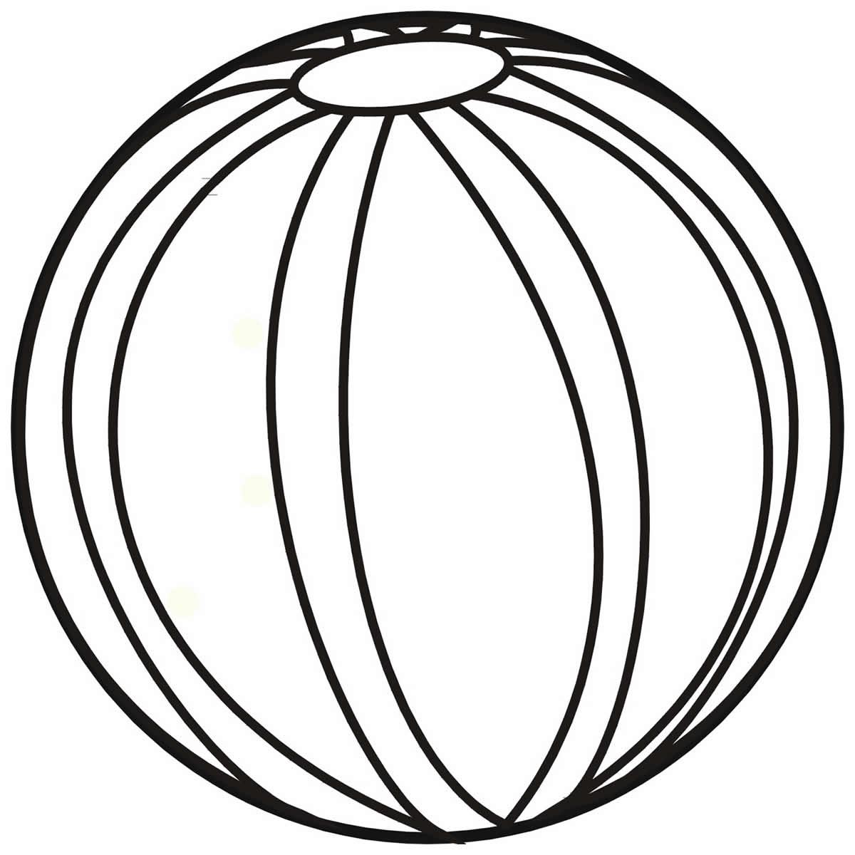Imagens de bola para pintar