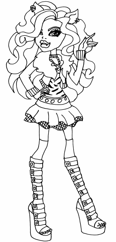 Desenhos de Monster High para pintar