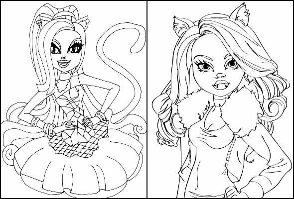 Desenhos De Monster High Para Colorir Pop Lembrancinhas