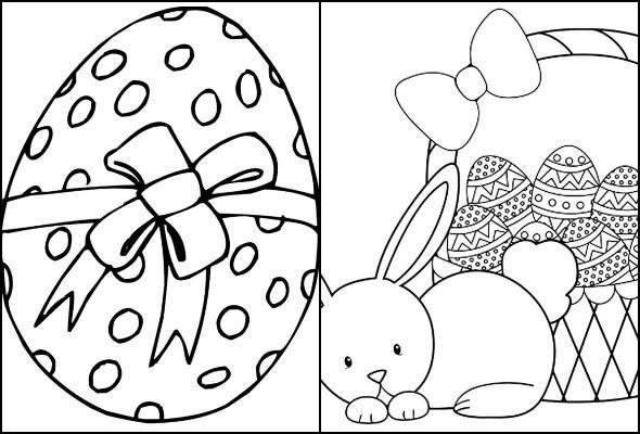 Desenhos De Ovos De Pascoa Para Colorir Pop Lembrancinhas