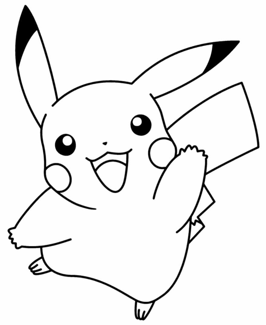 Desenhos De Pikachu Para Colorir Pop Lembrancinhas