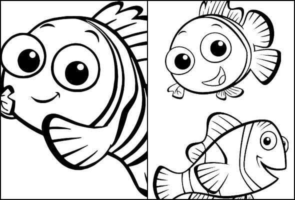 Desenhos De Procurando Nemo Para Colorir Pop Lembrancinhas