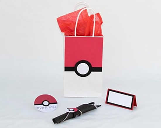 Lembrança para Festa Pokemon