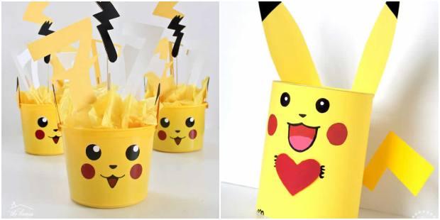 Lembrancinhas para Festa Pikachu