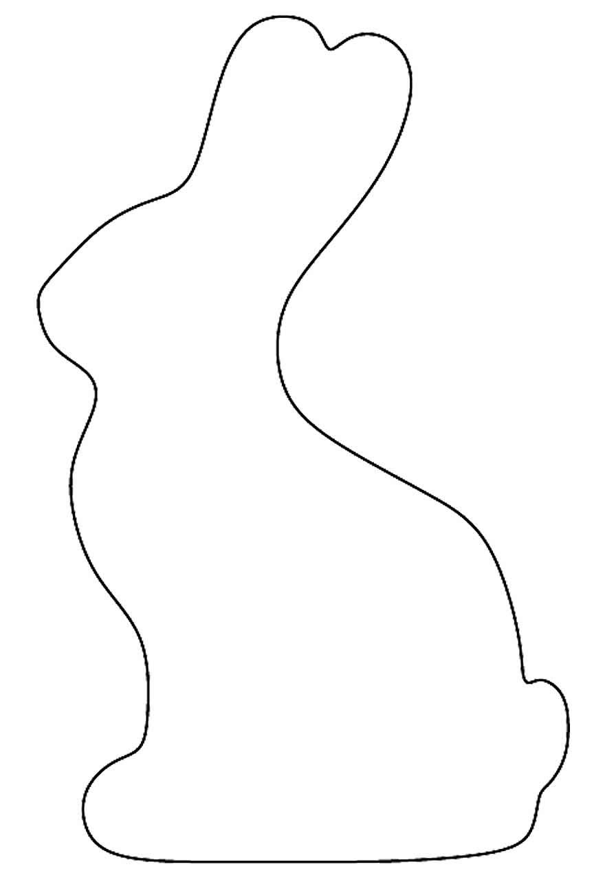 Molde de coelhinho