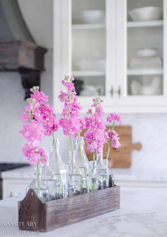 Lindas decorações com flores