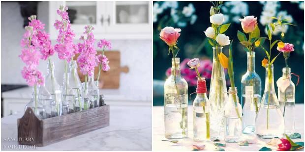 Arranjos com flores para decorar a casa