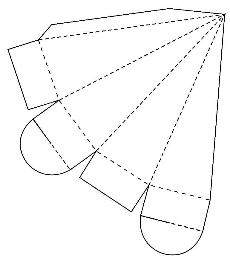 Molde de caixinha para Páscoa - Cenoura Lembrancinha