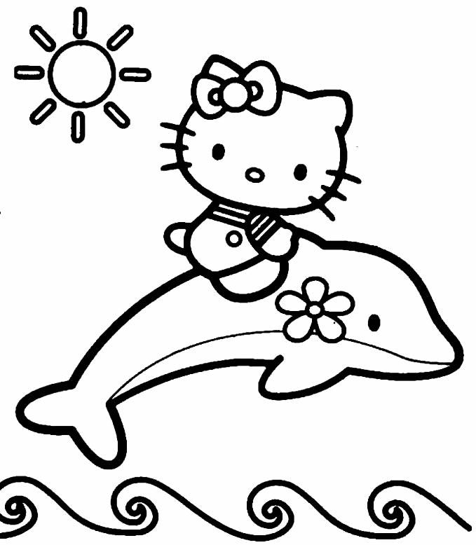 Molde da Hello Kitty para impimir