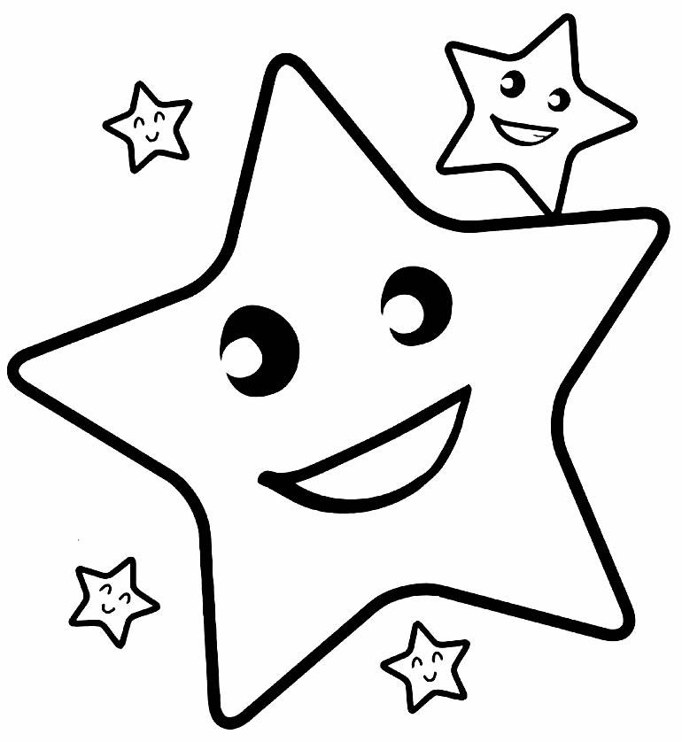 Desenho de estrelas