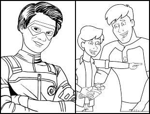 Desenhos de Henry Danger para colorir