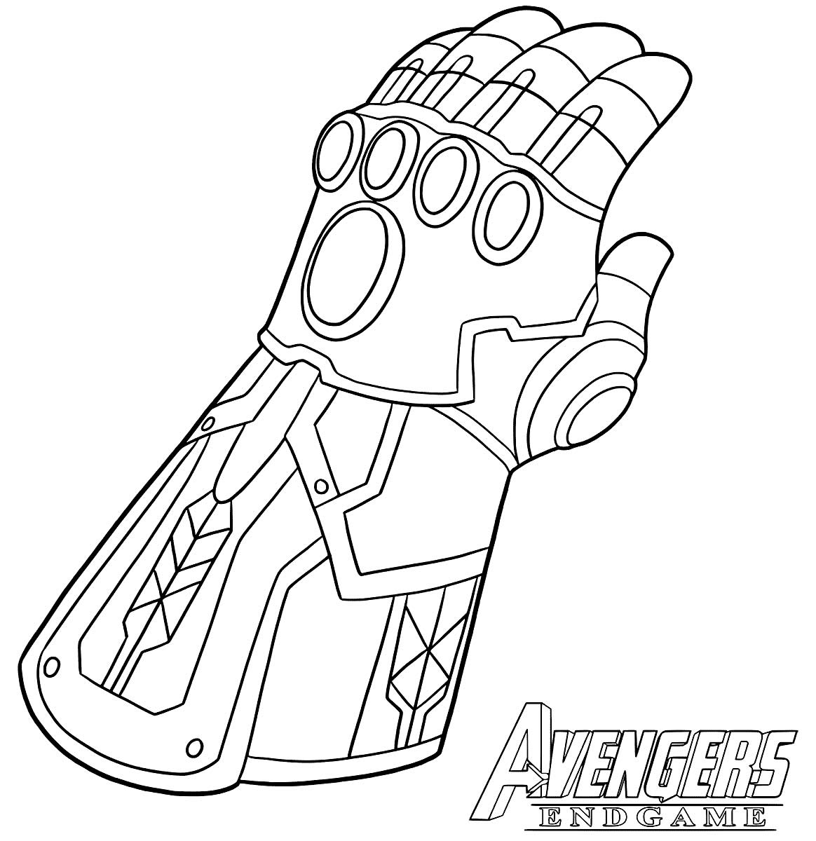 Imagem de Thanos para pintar