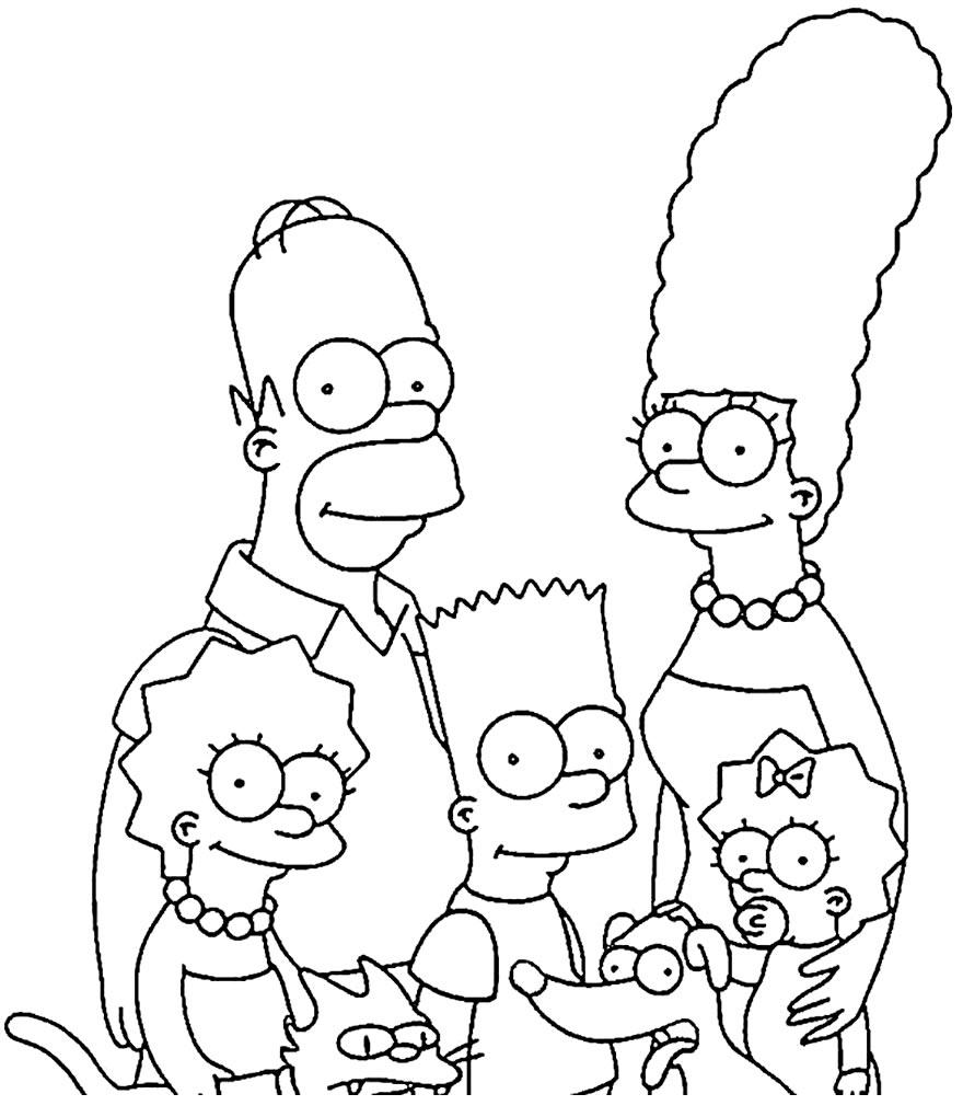 Desenho dos Simpsons