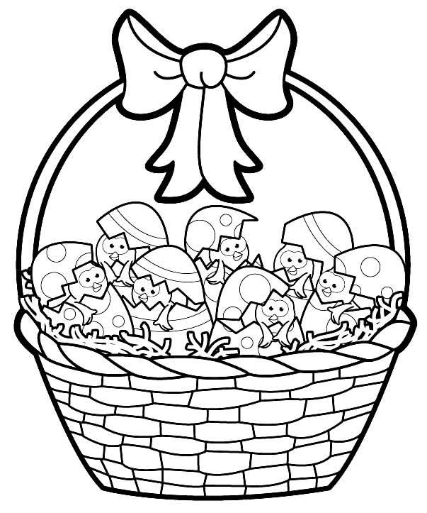 Imagem de cesta de Páscoa