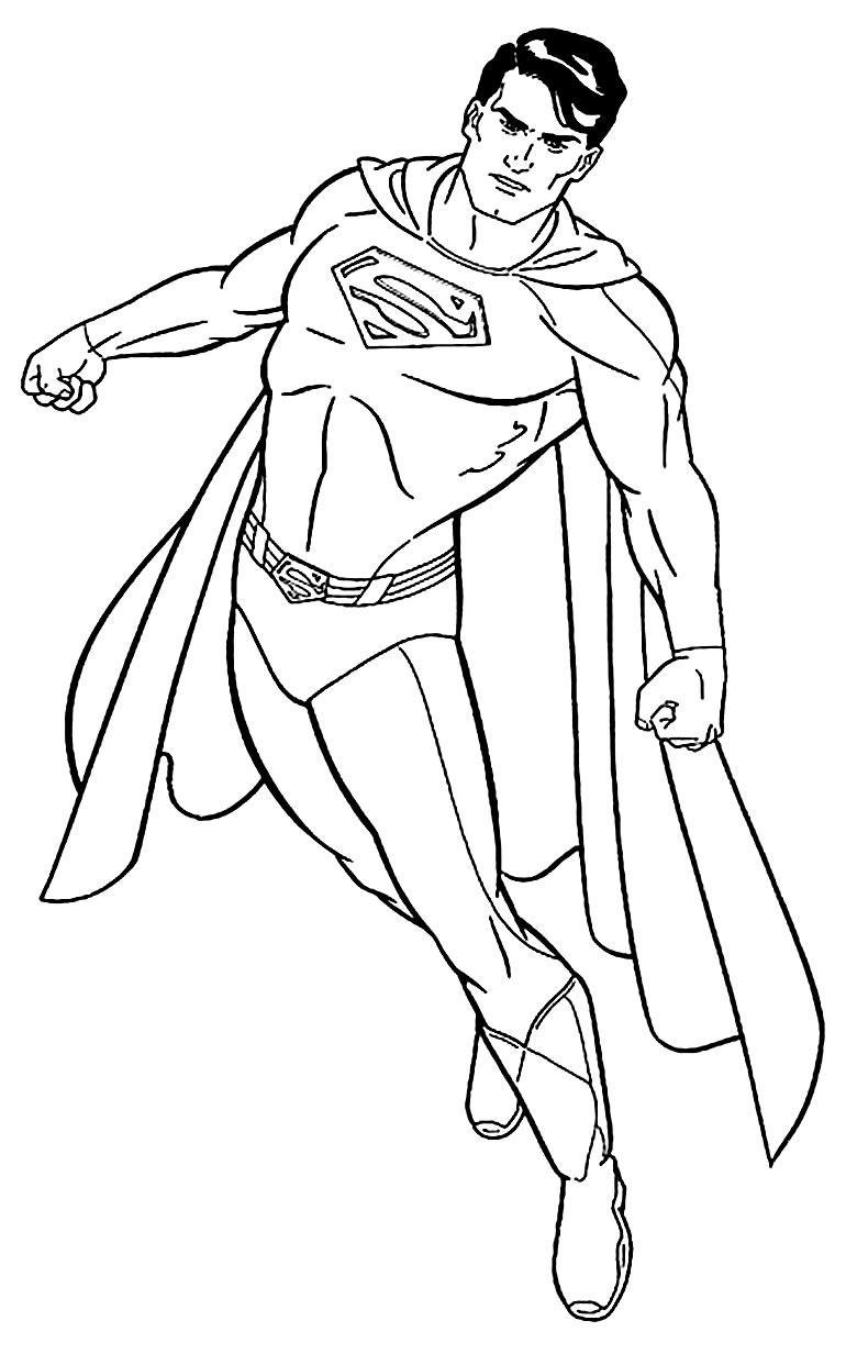 Imagem de Super Homem para imprimir