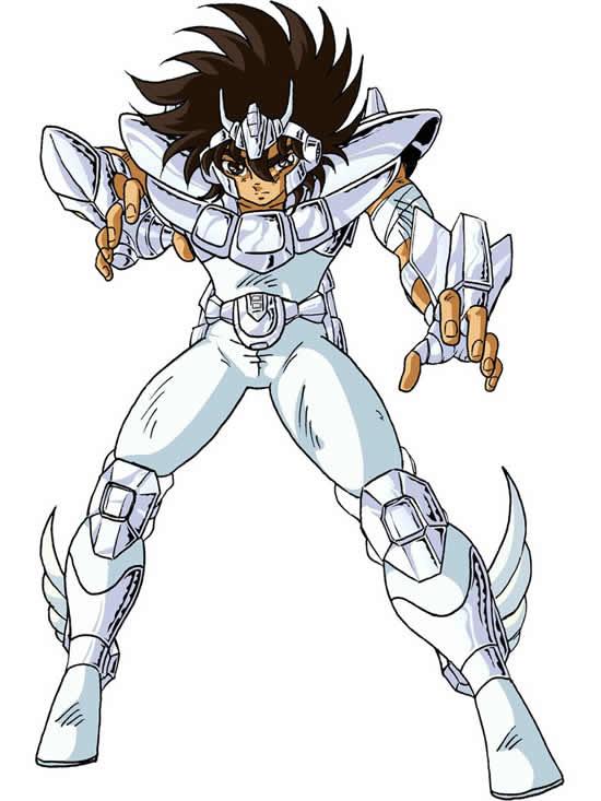 Desenho dos Cavaleiros dos Zodíaco - Seiya