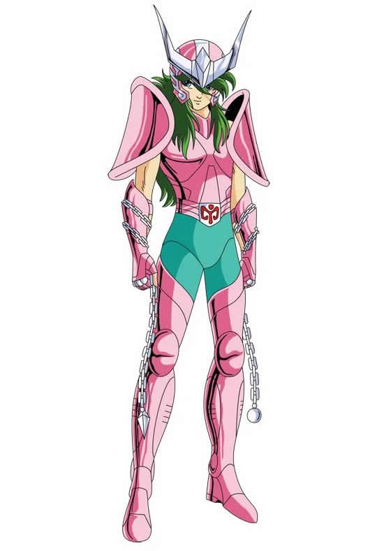 Desenho dos Cavaleiros dos Zodíaco - Shun