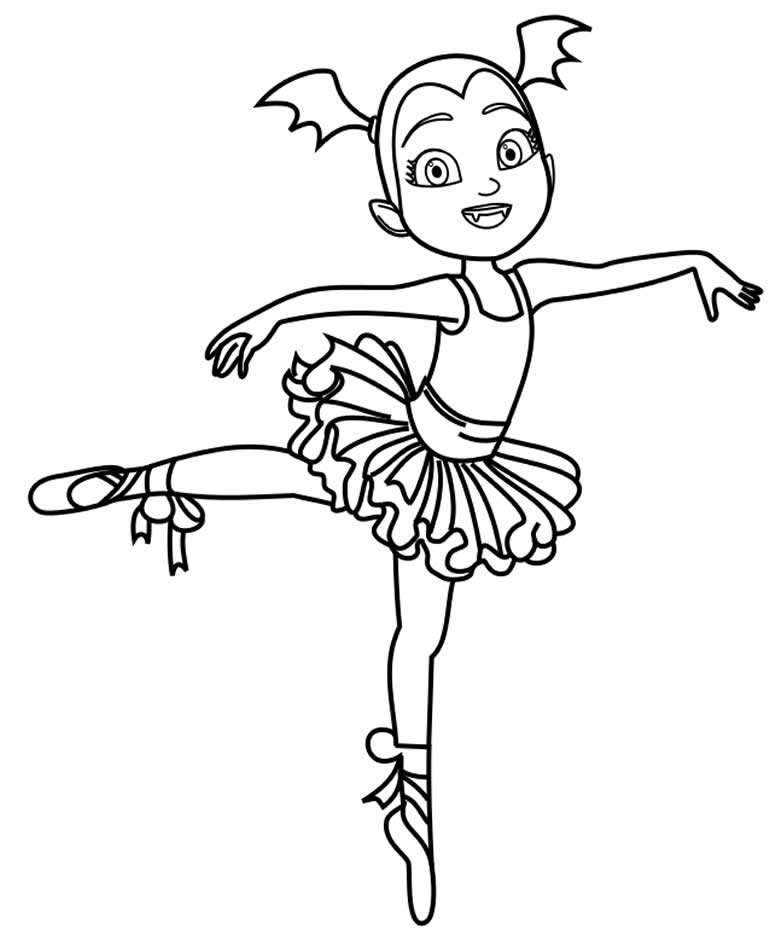 Molde de bailarina para imprimir